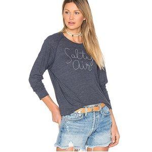 Sundry Salty Air Graphic Pullover Sweatshirt